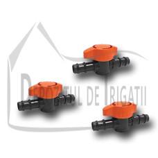 Robinet conector tub picurare 20 x 20mm - TR;