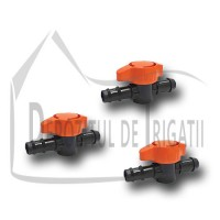 Robinet startconector tub picurare 20 x 16mm - TR;