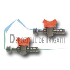 Robinet tub picurare - startconector cu garnitura Grommet, D = 16 mm - PLP;