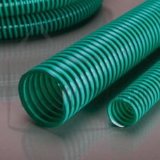 Furtun absorbtie armat cu spirală PVC, D = 75 mm;