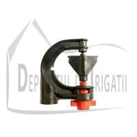 Microaspersor DELTA 360 grade, Q = 120 l/h, diametru de udare D = 10 m;