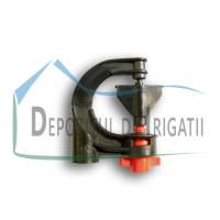 Microaspersor DELTA 360 grade, Q = 200 l/h, diametru de udare D = 11 m;