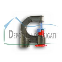Microaspersor fix 180 grade, Q = 120 l/h, diametru de udare D = 4 m - PLP;