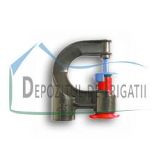 Microaspersor fix 90 grade, Q = 120 l/h, diametru de udare D = 4 m - PLP;