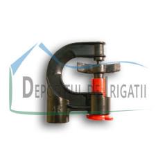Microaspersor SUPER SPRAYER rotativ 360 grade, Q = 200 l/h, diametru de udare D = 9 - 9,5 m;