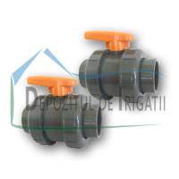 Robinet PVC 40 x 40 mm (lipire)- PLP;